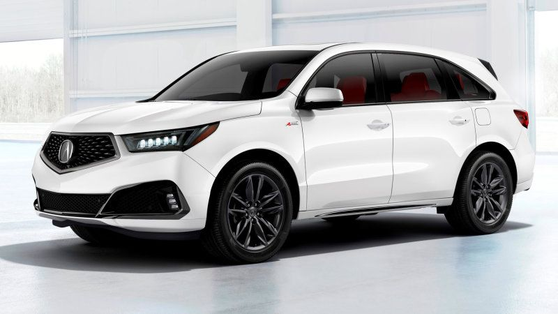 2019 Acura Rdx Debuts In N Y With A Spec Version And Turbo Power Acura Suv Acura Mdx Acura Mdx Hybrid