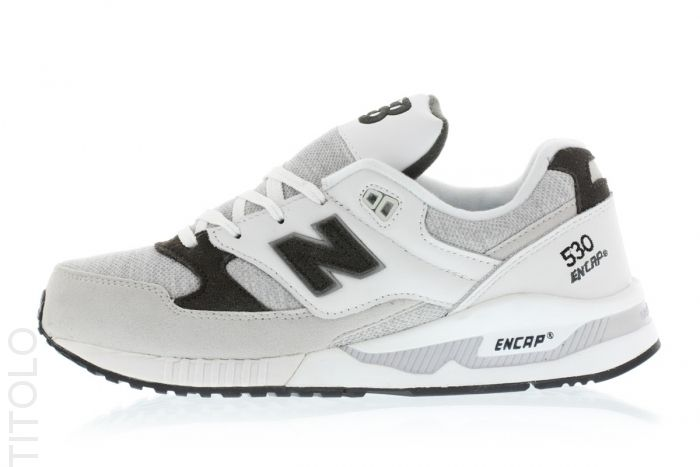 3adb1fa40e M530CCR White/Grey New Balance Titolo   Sneakers   Grey new balance ...