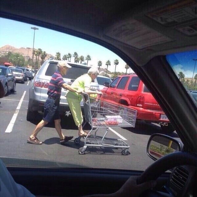 I swear this will be me and Cody one day! #toosweet #oldcouples #togetherforever @cody_mack_2015