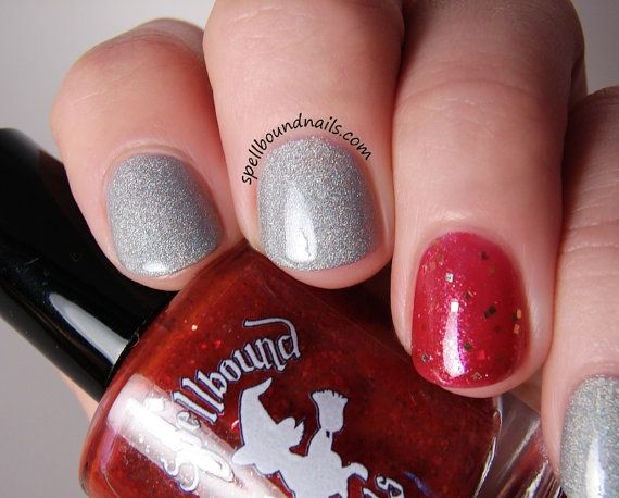 Mirror of Erised - Custom Harry Potter Inspired Silver Holographic Nail Polish