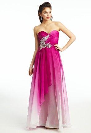 f10ebcb6890 Ombre Chiffon Dress - wow!  prom