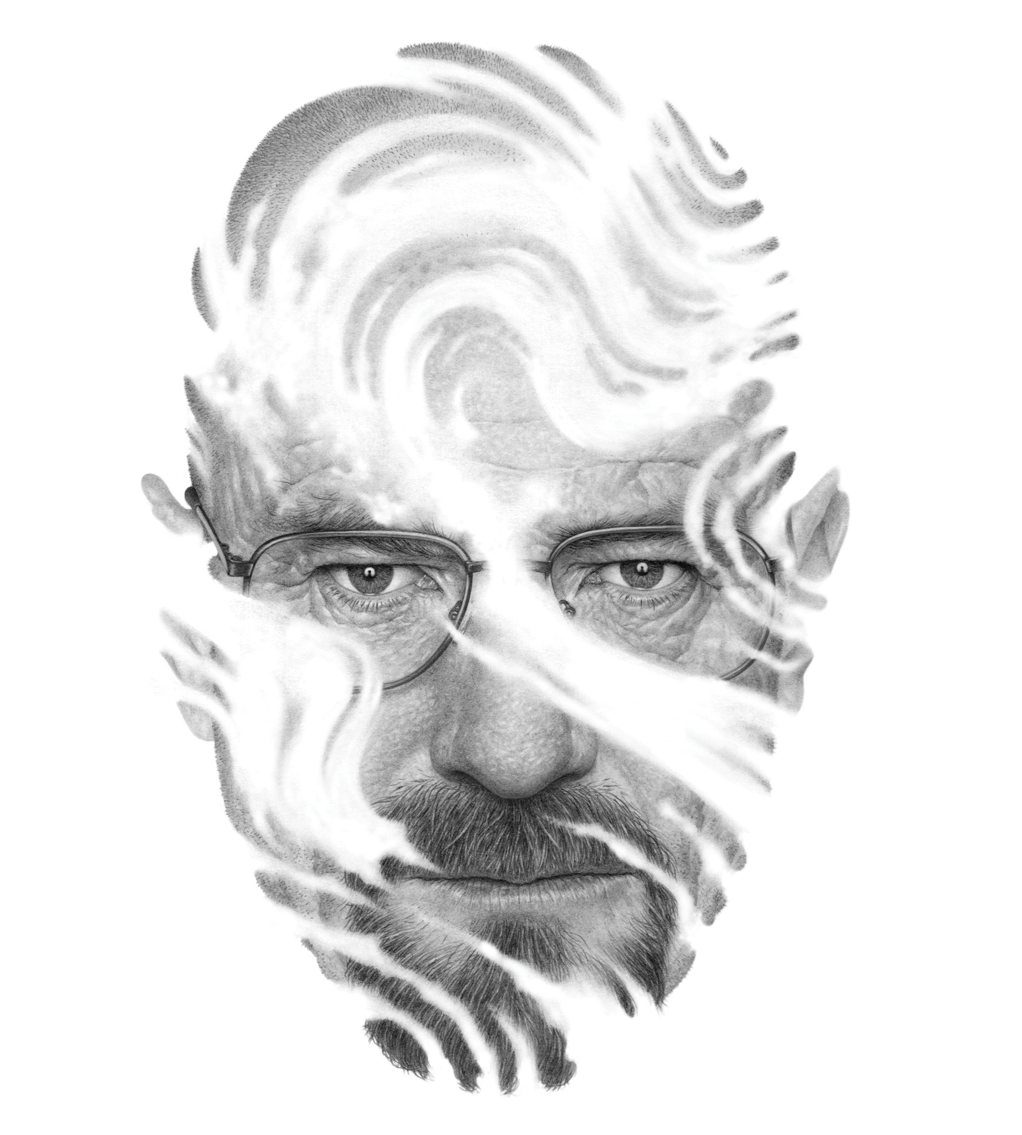 Heisenberg Lives: What Happens When Walter White Leaves Us? by David Thomson http://on.tnr.com/17HY0yP Illustration by Boris Pelcer