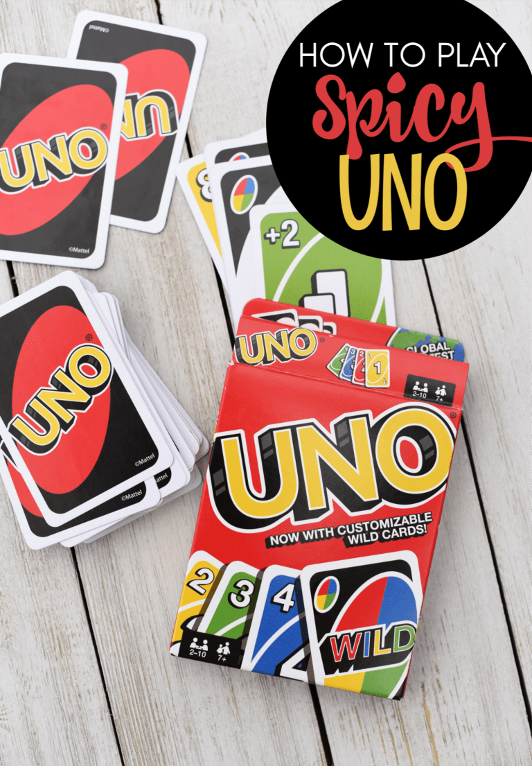 How to Play Spicy Uno – Fun-Squared