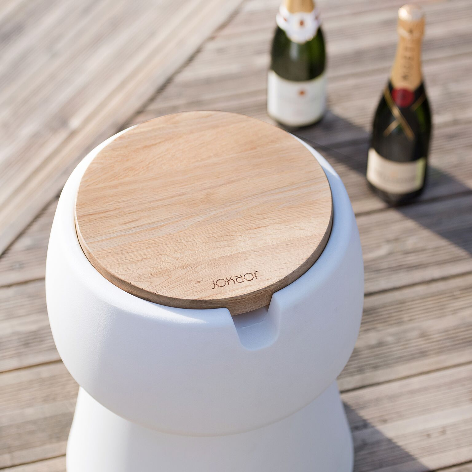 The JOKJOR Champ is a stool that also can be used as a cooler