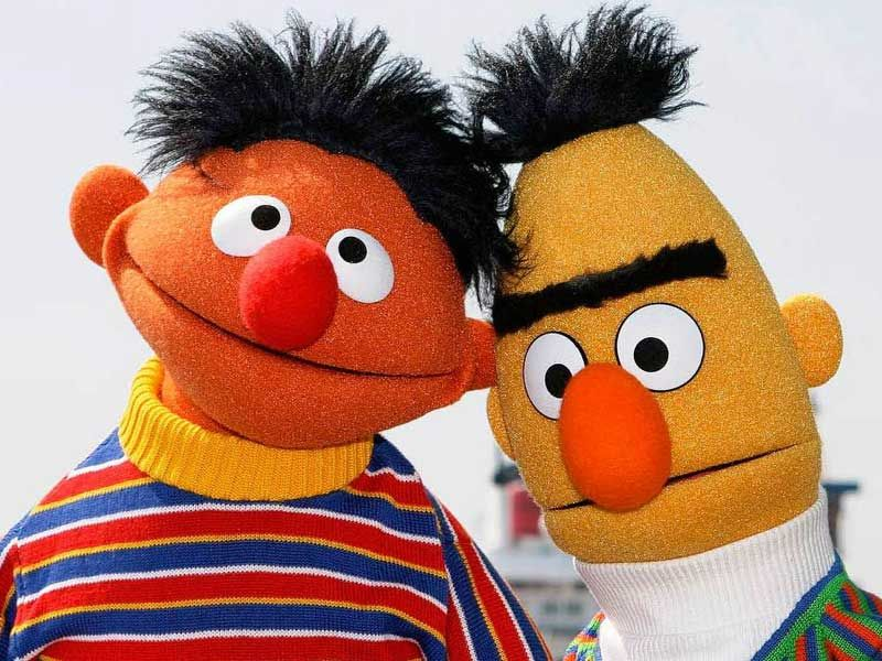 Ernie And Bert Muppet Characters Been Rumoured That The