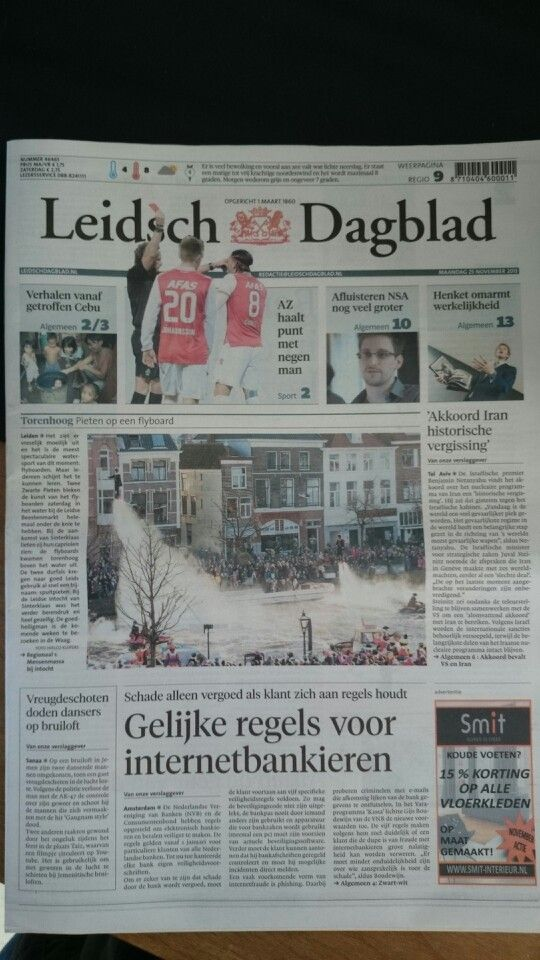 Frontpage with our stuntshow :-)