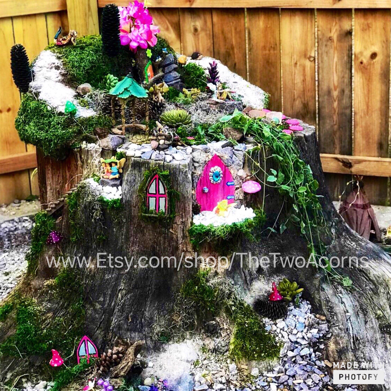 Free Shipping Handmade Fairy Garden Kit Handmade Fairy Garden Kits
