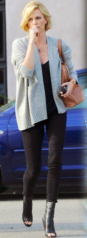 Charlize casual style