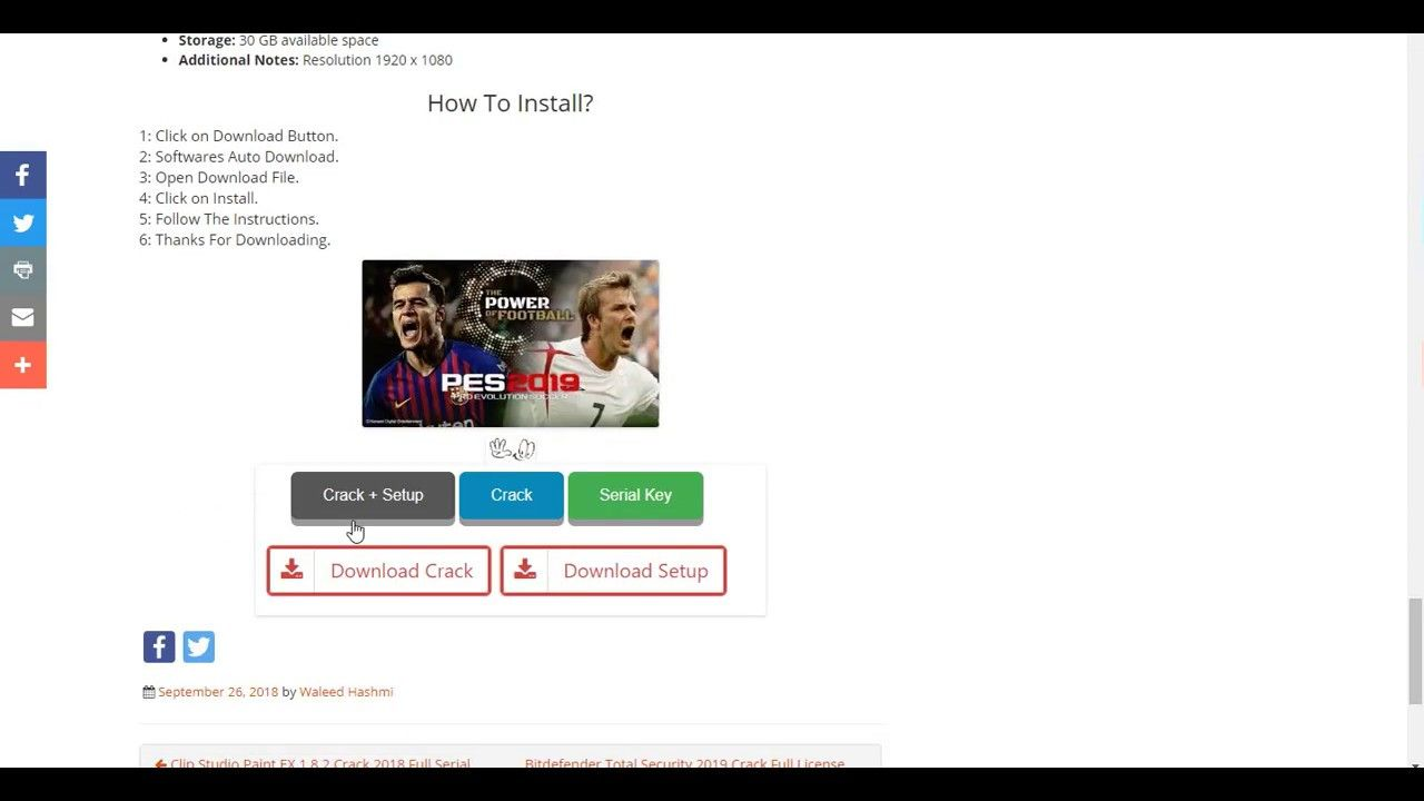 free download license key for pes 2016