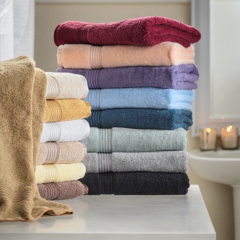 10pc Superior Egyptian Soft Cotton Face Towel Set Washcloths All Colors 600 Gsm