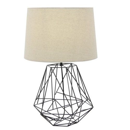 Found It At Allmodern Metal Wire 25 Table Lamp Lamp Black Table Lamps Wire Table