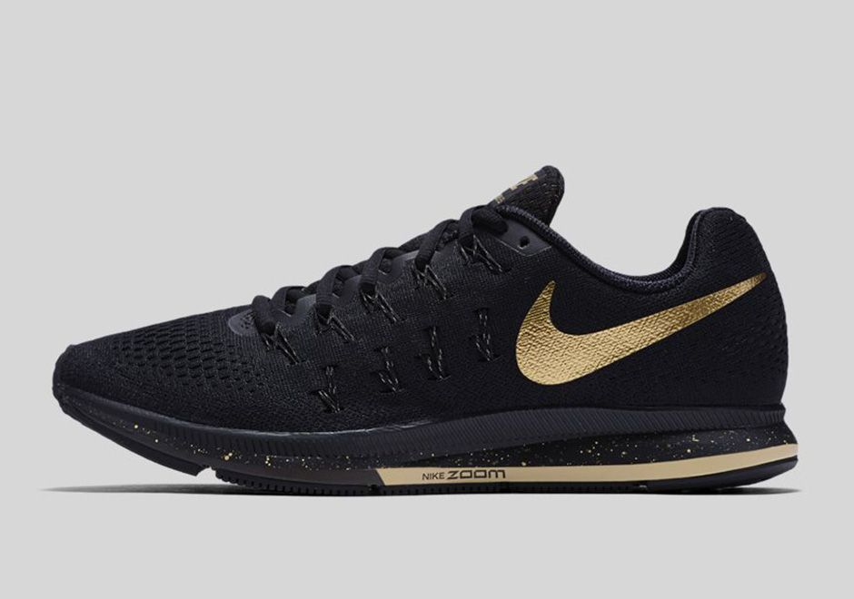 best sneakers 53fb4 4f756 The Nike Running Black And Gold Collection honors the hard work to  accomplish your goals with a mens and womens release available on August  20th, 2016.
