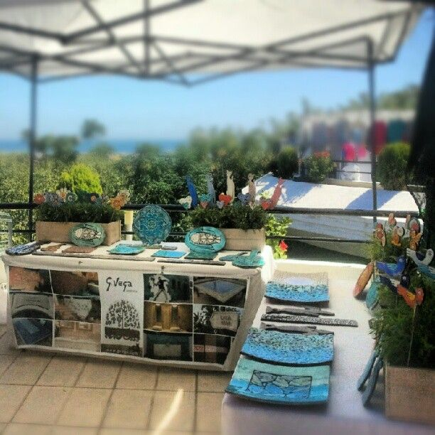 We're at the Puerto Banus Saturday Market, come visit us or find us on Etsy