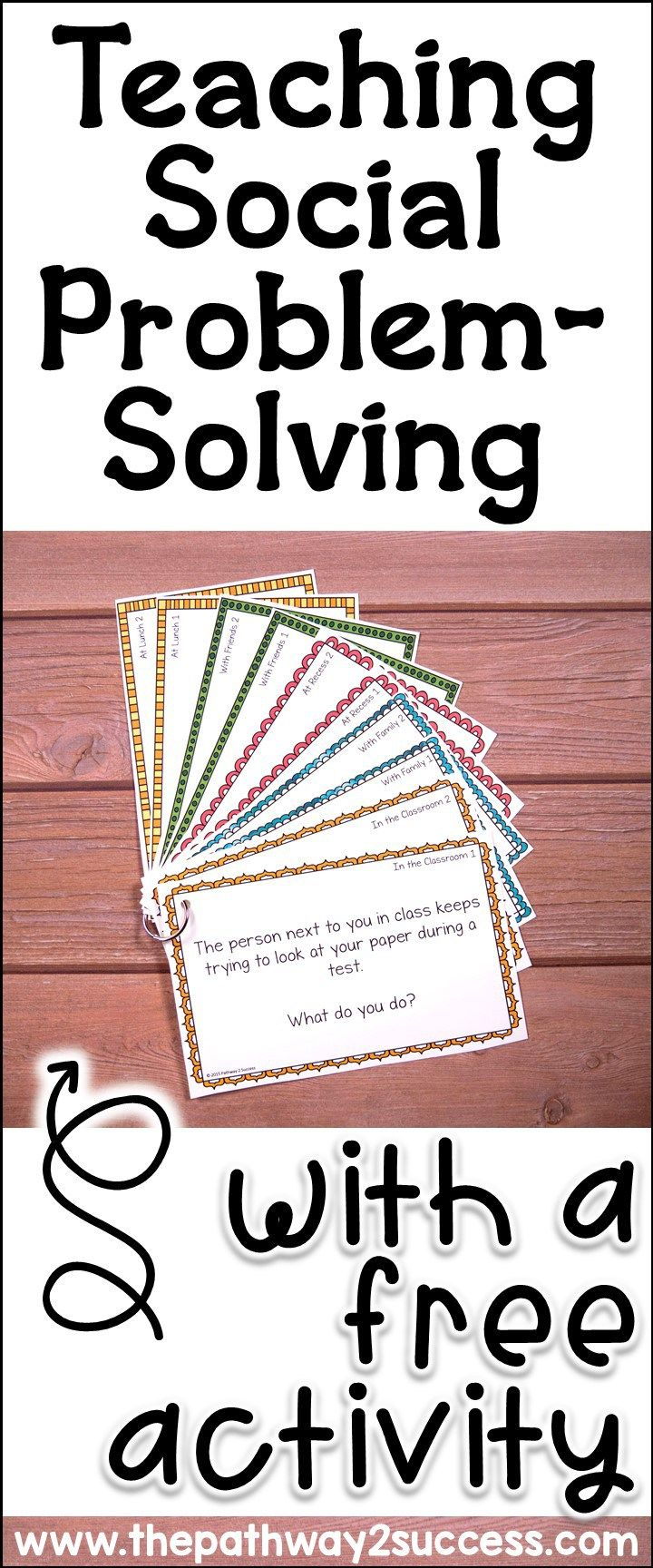 Teaching Social Problem Solving With A Free Activity