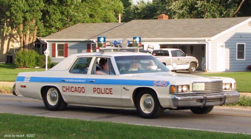 Chicago police dept dodge royal monaco 440 727 for Chicago motors used police cars