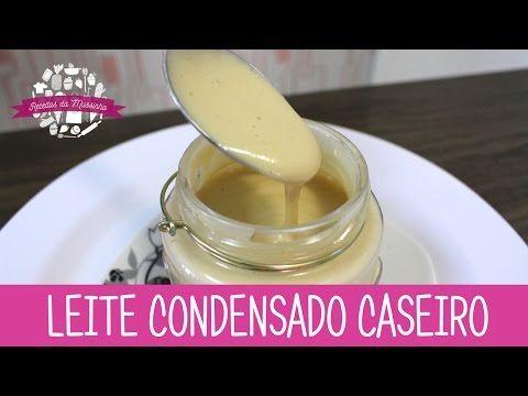 Receita - Leite Condensado Caseiro - YouTube