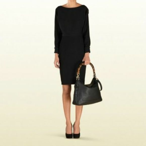 bc3b8d86c2f34f Gucci Diana Bamboo handle handbag Gucci black Diana bamboo handbag that  works well with any outfit. There is some wear and without extra strap,  price ...