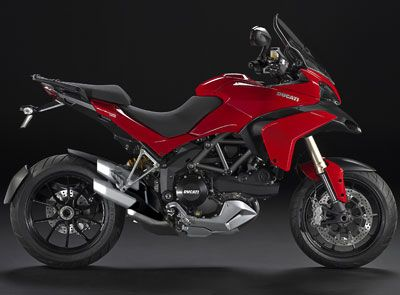 The Ducati Multistrada 1200 Offers Four Different Riding Modes