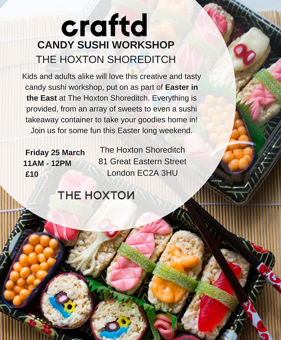 CRAFTD: Candy Sushi Workshop (Easter in the East) Tickets, Fri, 25 Mar 2016 at 11:00 | Eventbrite #candysushi CRAFTD: Candy Sushi Workshop (Easter in the East) Tickets, Fri, 25 Mar 2016 at 11:00 | Eventbrite #candysushi CRAFTD: Candy Sushi Workshop (Easter in the East) Tickets, Fri, 25 Mar 2016 at 11:00 | Eventbrite #candysushi CRAFTD: Candy Sushi Workshop (Easter in the East) Tickets, Fri, 25 Mar 2016 at 11:00 | Eventbrite #candysushi