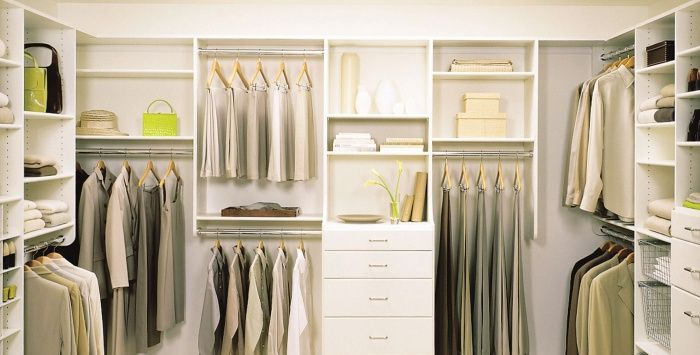 how to build a california closet