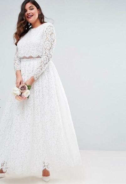 klänningar stora storlekar bröllop