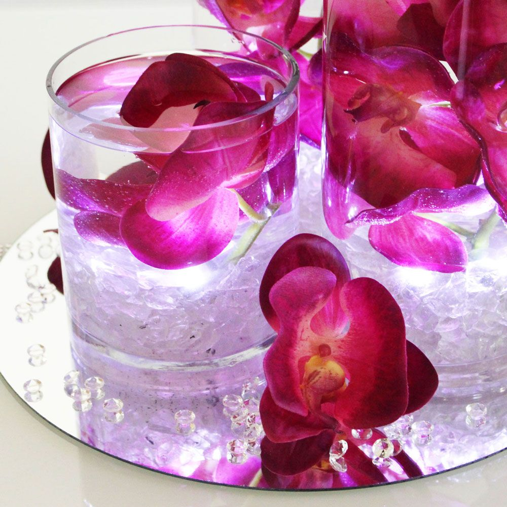 Silk orchids silk wedding flowers wholesale silk flowers silk flower phalaenopsis orchid spray in fuchsia purple 37 tall x 3 4 blooms silk orchidsphalaenopsis orchidflowers wholesalewedding mightylinksfo