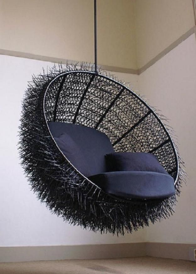 Another Zip Tie Chair Hanging Chair Cool Chairs Swinging