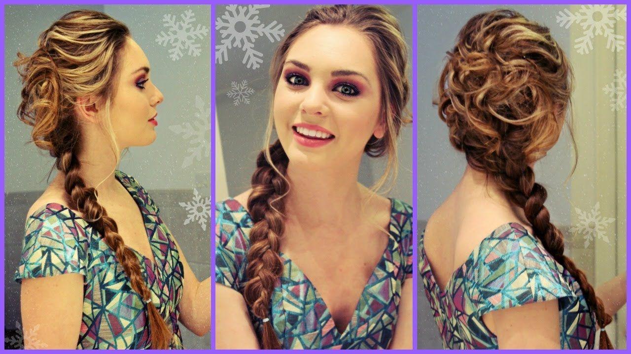 Love this braid elsafrozen inspired hair elsa pinterest