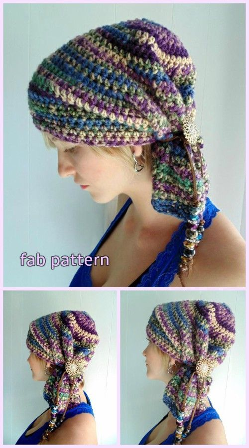 Sophie Scarf Hat Crochet Pattern for Ladies  5696e819da2