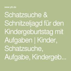 schatzsuche schnitzeljagd f r den kindergeburtstag mit aufgaben kinder schatzsuche aufgabe. Black Bedroom Furniture Sets. Home Design Ideas