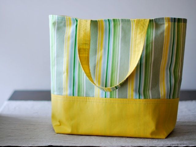 the market tote tutorial.