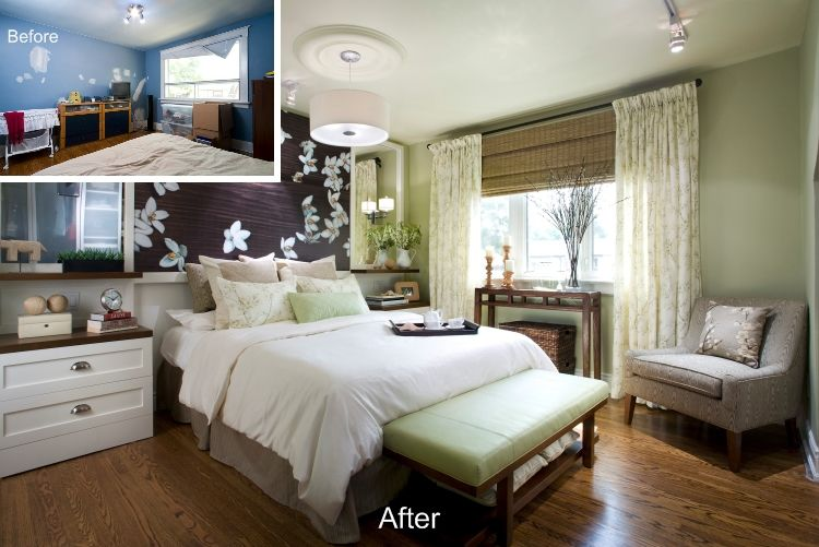 Consider These 10 Must See Before And After Bedroom Makeovers Bedroom Makeover Home Bedroom Bedroom Design Master bedroom redo july 2009