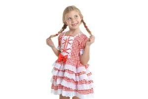 Vestido festa junina americanas