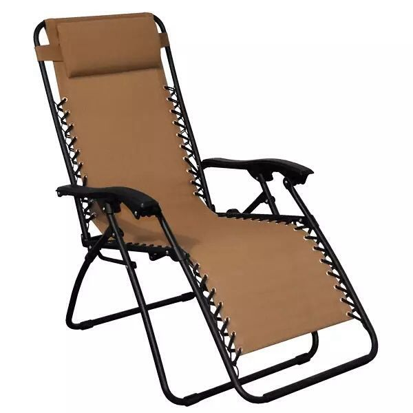 Chaise d tente z ro gravit vendue chez club piscine 49 for Chaise zero gravite