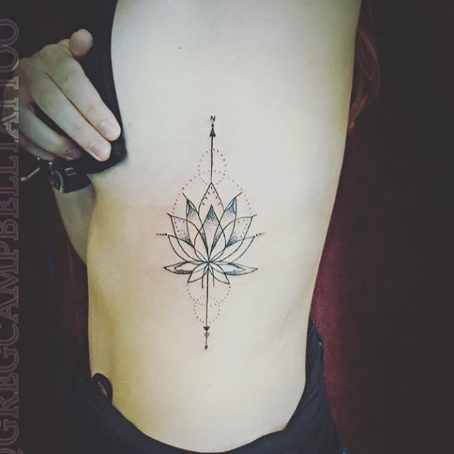 Gregcampbelltattoo Bondiink666 Lotus Tattoo