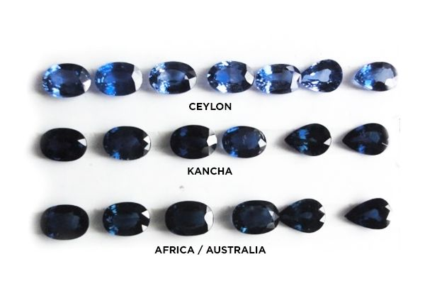 A Buyer S Guide To Sapphire Qualities Natural Aaa Vs Aa Vs A Blue Sapphire Jewelry Sapphire Color Lovely Jewellery