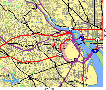 Virginia arlington zip code