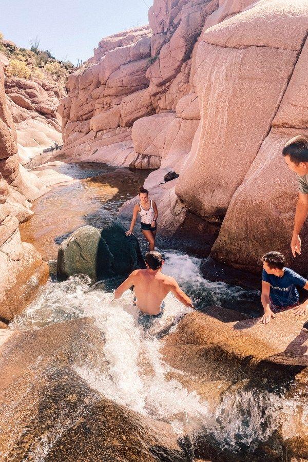 Salome Jug: Arizona's Mile Long Natural Water Park