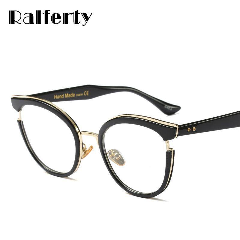 dd77efbb39 Fashion ladies cat eye glasses vintage black optical eyeglasses frames  women eyewear frame oculos de grau gafas f97551  plastic  women  solid   frames ...