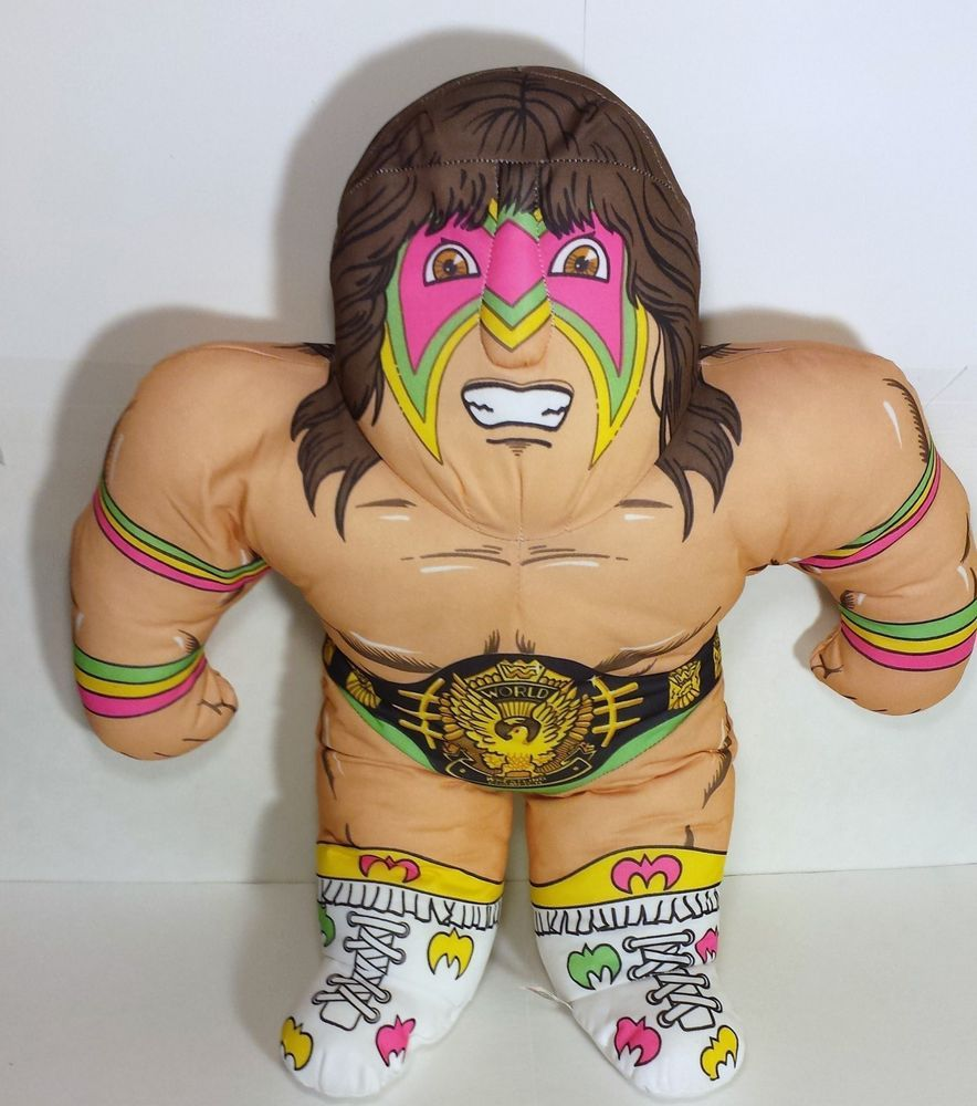 ultimate warrior plush