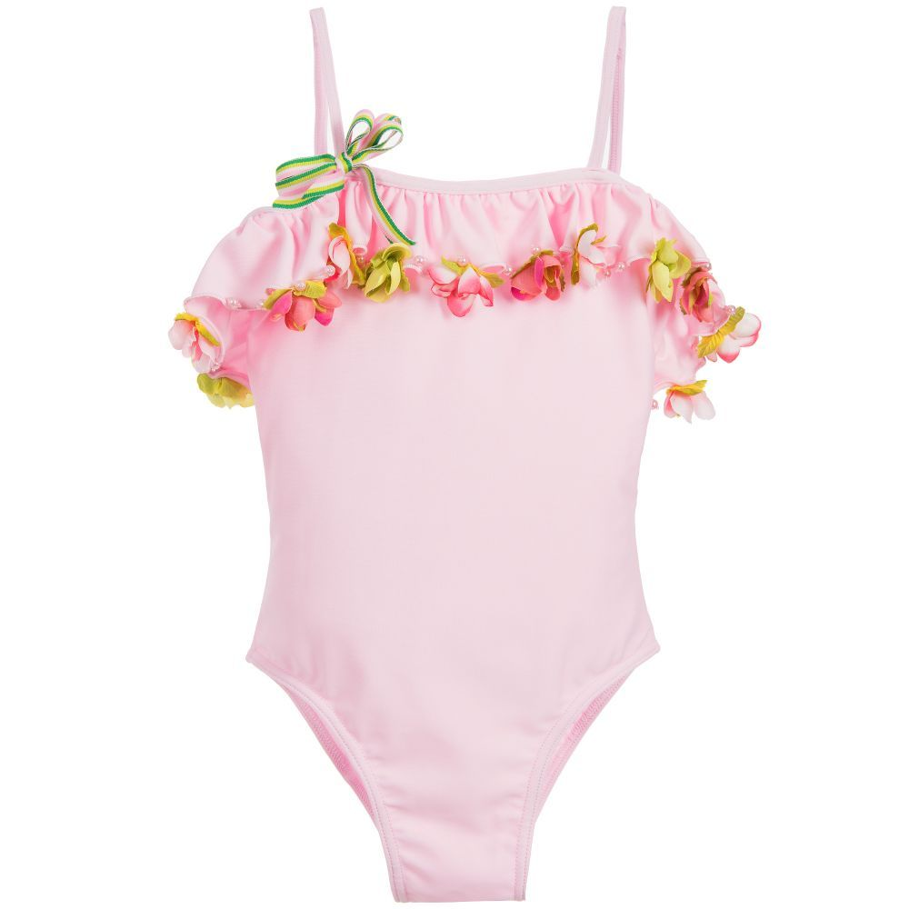 04b5158bae820 This gorgeous, soft and stretchy, girls swimsuit by Selini Action is ideal  for sunny