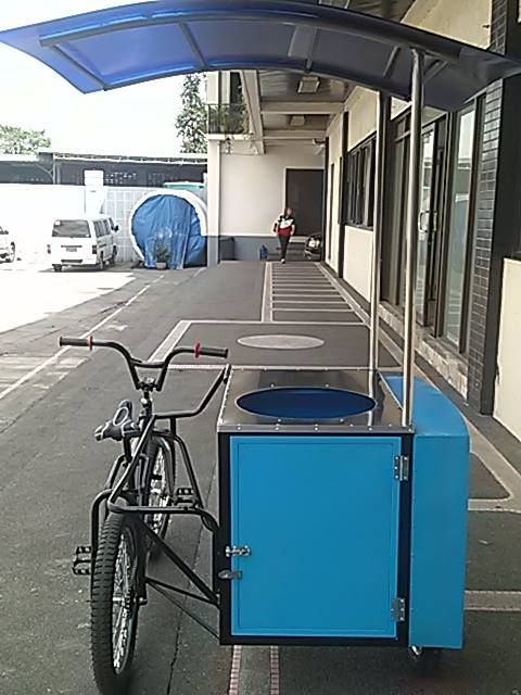 cart with bike good for #fishball #squidball #kwek2 and other