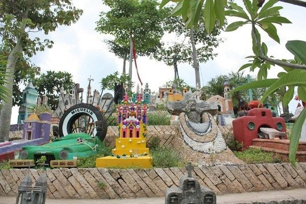 Image result for Xcaret one-of-a-kind cemetery