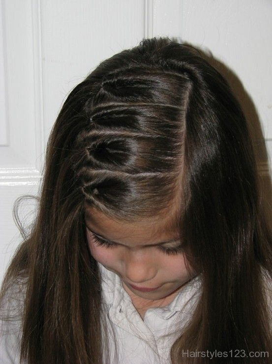 Long Straight Hairstyle For Kids Lots Of Locks Pinterest