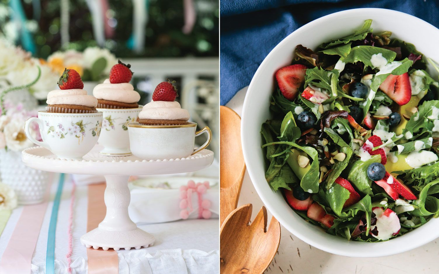 From cupcakes to ice cream to a zesty salad, we've compiled some of our favorite strawberry recipes to get you ready for spring.