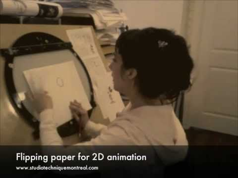 Flipping Paper for 2D Animation - YouTube