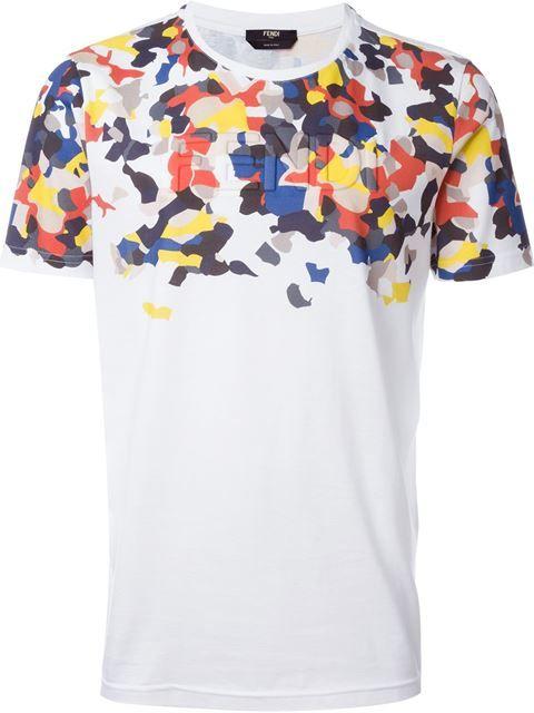 Compre Fendi Camiseta com logo em Mantovani from the world's best independent boutiques at farfetch.com. Compre em 400 boutiques em um único endereço.