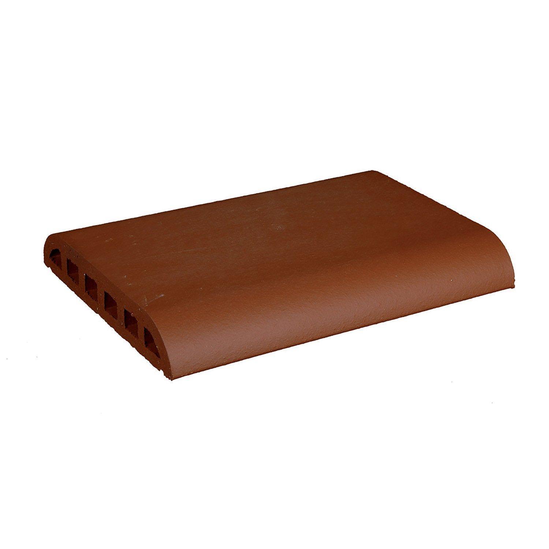 Couvre Mur Plat Lisse Rouge H5 X L29 X P40 Cm Products