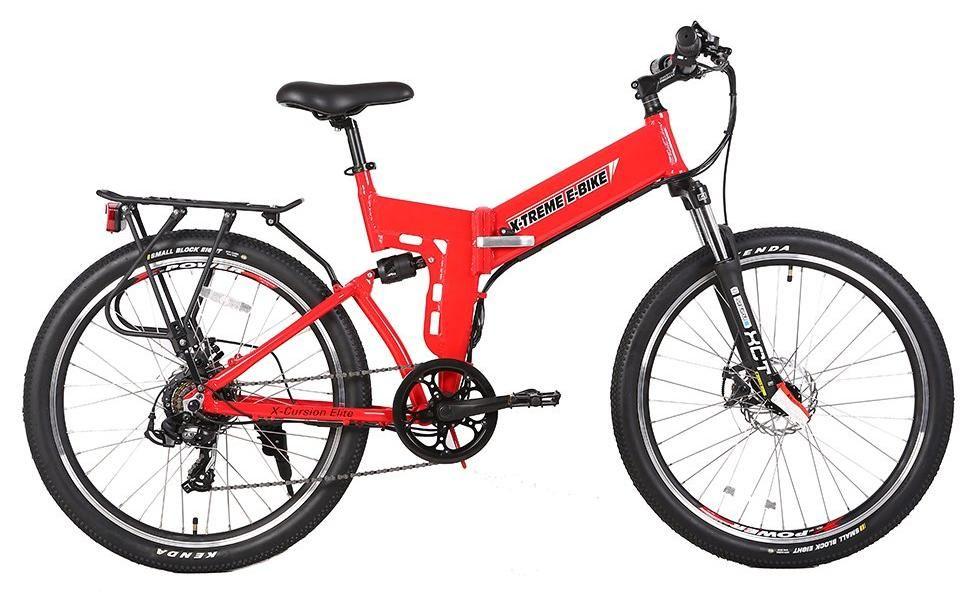 X Treme X Cursion Elite 24 Volt Electric Folding Mountain Bicycle