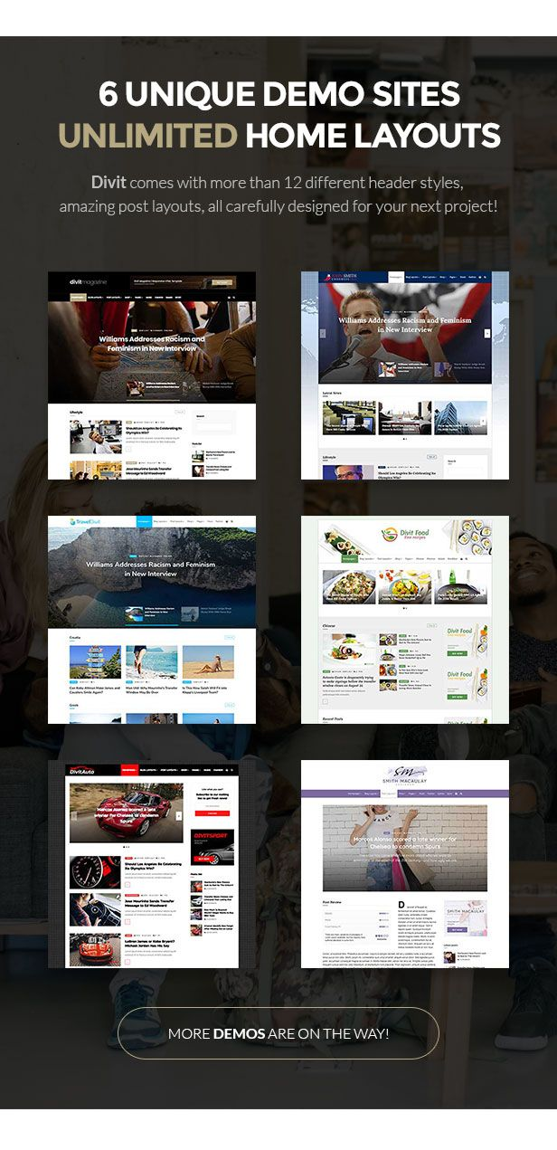 Divit - Multipurpose Magazine Template by different-themes